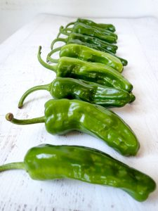 3-Ingredient Blistered Shishito Peppers