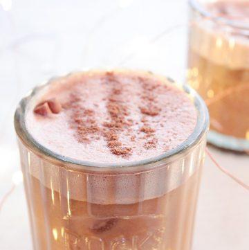 Bourbon Cacao Vegan Milk Punch   Hashtag Vegan