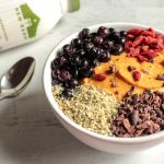 5-Ingredient Sweet Potato Breakfast Bowl | Hashtag Vegan