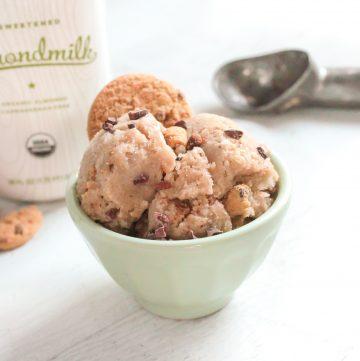 Cookie Dough Nice Cream | Hashtag Vegan