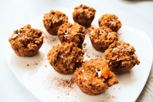 Cinnamon Sweet Potato Muffin Bites
