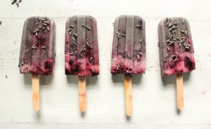 Blueberry Lavender Ice Pops