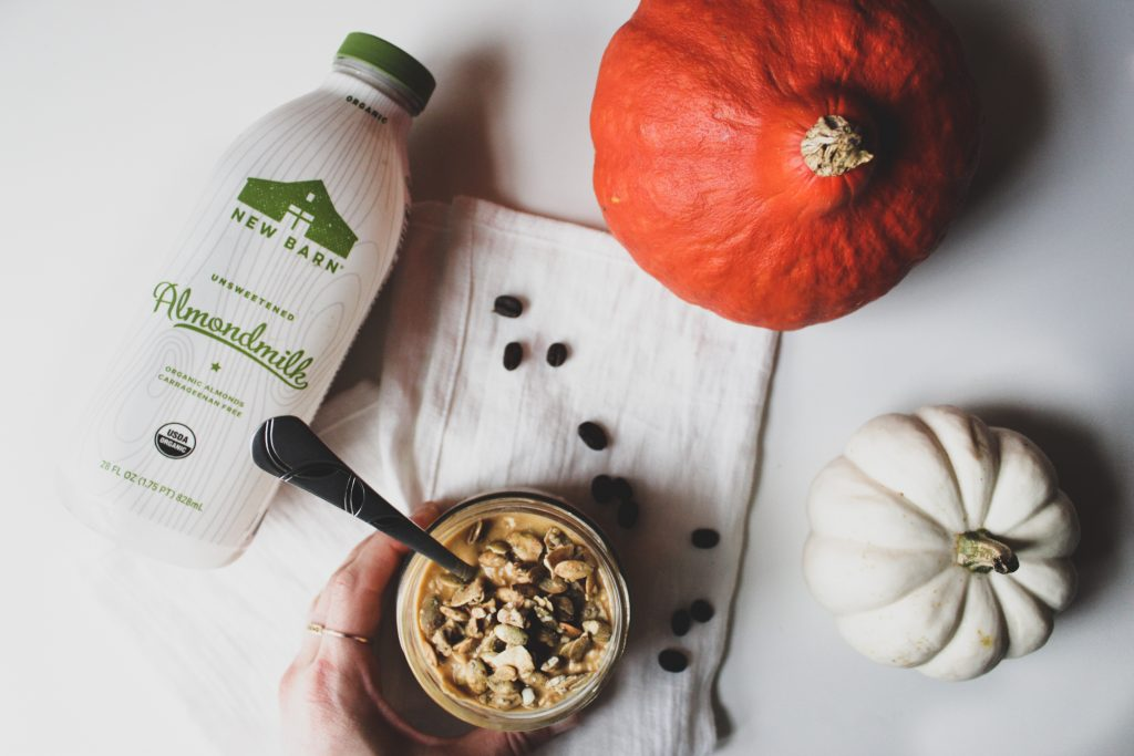 Pumpkin Spice Latte Overnight Oats