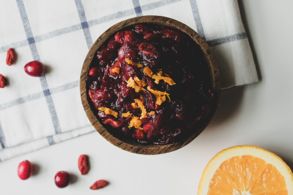Hashtag Vegan • Superfood Goji Granberry Sauce
