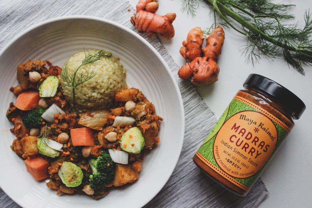 Hashtag Vegan • One-Pot Winter Vegetable Curry