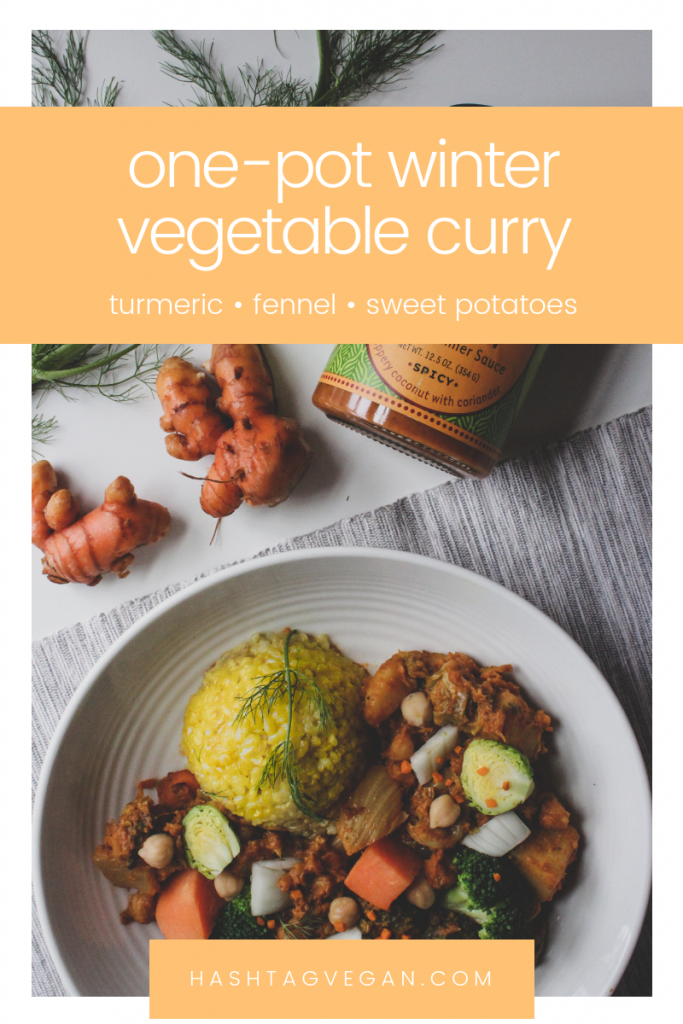 one-pot winter vegetable curry