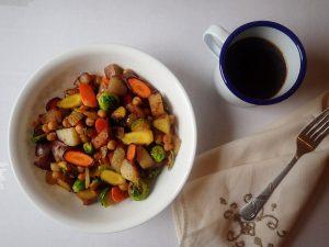 Savory Winter Breakfast Bowl