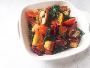 10-Minute Iron-Rich Vegan Scramble