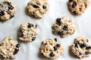 Easy Whole Wheat Blueberry Scones
