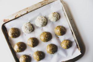 Turmeric Ginger Energy Balls